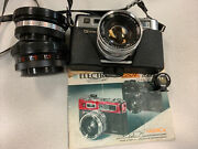 Yashica Electro 35 Gsn With 2 Yashikor Lenses And Tele Wide Finder