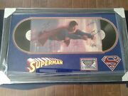 Superman 1978 Movie Soundtrack Hand Signed Lp Cover By 6 Cast / With C.o.a.