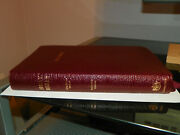 Holy Bible King James Version Red Letter Edition Calfskin Cambridge Very Good