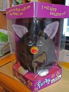 Furby 1998 Model 70-800 Tiger Electronics, Black And White, Never Opened Box