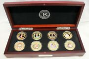 Bradford Mint 24k Gold Plated Diana Princess Of Wales Coin Collection Ltd 2017