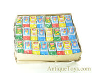 Japanese Tin Lithographed Toy Cars Set Of 72 In Box