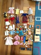Vintage Mattel 1 1963 Skipper Redhead Straight Doll Accessories Lot Barbie 60s