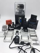 Gopro Hero 3 Black Bundle With Extra Batteries And Accessories