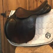 County Innovation Saddle 17.5 Narrow Xtr Leather Forward Flap. 2775 Price Drop