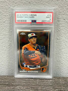 2013 Topps Chrome Manny Machado 12 Psa 9 Mint Orioles Padres Rookie Rc