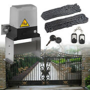 1400lbs Sliding Courtyard Operator Gate Opener Magnetic Limit Switch Us Stock