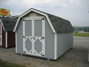 Little Cottage Company Value Gambrel Barn 4' Sidewall In 17 Sizes Opt. Floor Kit