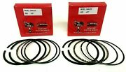2 Sets Of Piston Rings Replaces Onan 0113-0310 .010 Ring Set Fits P 216-218-220