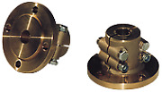 Boat Marine Half-coupling Cent. Ring 30mm-as 60mm Pitch 80mm 4x 105mm Volvo
