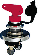 Boat Marine Allpa Battery Main Switch Chromed Brass/plastic 140a Continuous