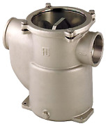 Boat Marine Nickel Plated Cooling Water Strainer Robust Steel 3/4 H151mm 3800l/h