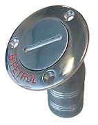 Boat Marine Steel Deck Entries And039petroland039 Hose Connection 38mm Flange 76mm 30andordm