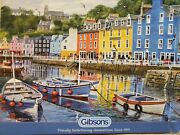 Gibsons Tobermory 1000 Piece Jigsaw Puzzle By Terry Harrison