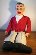 Vintage 24 Jerry Mahoney Ventriloquist's Dummy Paul Winchell Mahoney Time