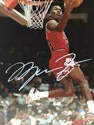 Michael Jordan Signed Autographed Picture Poster Free Shipping From Jpn 8511n