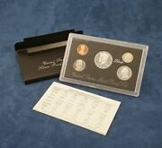 1997-s Us Mint Silver Proof Set - Free Shipping Usa