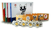 Tokyo 2020 Olympic Official 4 Gold Banknote 16 Silver Coins All I Ii Iii Iv Sets
