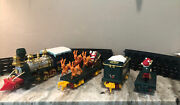 Vintage Christmas Magic Express Train Set Toy State '92 And '93 With Track