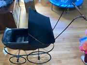 Antique/vintage Victorian Early 1900and039s Style Baby Doll Buggy/carriage/stroller
