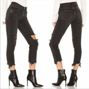 Free People Good Time Relaxed Skinny Jeans Sz 32