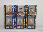 Disney Musical Figurines Powered Dance Mickey Minnie Mouse 6 Units Ship From Usa