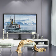 Table Top Tv Stand Base With Height Adjustable Mount Bracket For 20-43 Tvs