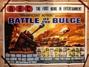Battle Of The Bulge Abc 1966 Uk Quad Poster 30 X 40 Inches