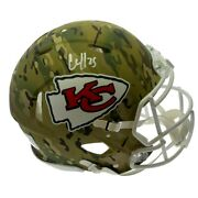 Clyde Edwards-helaire Autographed Signed Kansas City Chiefs Authentic Full Size