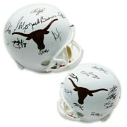 Texas 2005 National Champions Autographed Texas Longhorns Riddell Full Size Repl