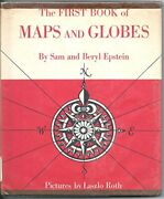 First Book Of Maps And Globes By Sam Epstein And Beryl Epstein - Hardcover Vg+