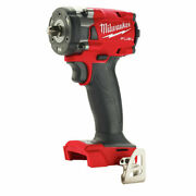Milwaukee 2854-20 M18 Fuelandtrade 3/8 Compact Impact Wrench W/ Friction Ring