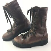 Cabelas Mens Skywalk Gore-tex Tall Leather Hunting Boots Made In Italy Sz 9 / 43