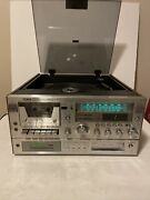 Vintage Yorx M2680 Am/fm Receiver Cassette Record Player8 Track Rare Tested