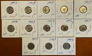8 X Us Dimes 2000s Uncirculated Condition Lot 2113 - See Listing For Details