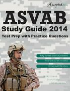 Asvab Study Guide 2014 Asvab Test Prep With Practice By Inc. Accepted Brand New