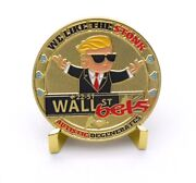 Wallstreetbets Challenge Coin Gold Wsb Gme Amc To The Moon