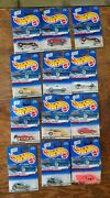 Unopened Individual Hot Wheel Collector Toy Cars, Various Series