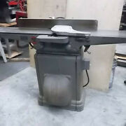 Delta 8 Jointer With Original Art Deco Cast Iron Stand / Base