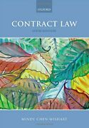 Contract Law By Mindy Chen-wishart Brand New