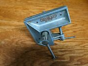 Vintage Stanley No. 702 Corner Clamp-on Carpenters Wood Vise Made In Usa