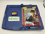 Leap Frog Quantum Pad Learning System W/1 Book 1 Cartridge Making Movies