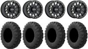 Method 401 15 Bdlk Bk 4+3 Wheels 35 Motovator R/t Tires Renegade Outlander