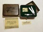 Schrade Federal Duck Stamp 1987/88 Commemorative Knife Set Mint In Box