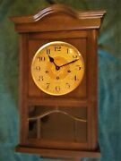 Linden Wall Clock - Ave Maria And Westminster Chimes