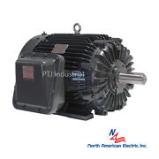 5 Hp Explosion Proof Electric Motor 215t 3 Phase 1200 Rpm Hazardous Location