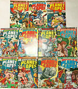 Adventures On The Planet Of The Apes1-11 Vf Lot 1975 Marvel Bronze Age Comics