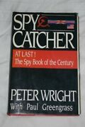 Spycatcher Candid Autobiography Senior Intelligence By Peter Wright - Hardcover