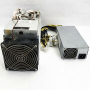 S9 Antminer 13.5 Th/s Bitcoin Btc Crypto Miner With Power Supply Included