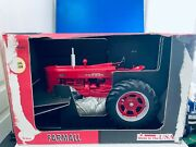 1/8 Scale Models Farmall Case Mccormick International Harvester 400 Tractor Red